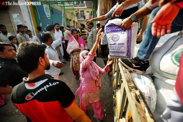 Delhi Riots, Delhi violence, northeast delhi violence, Delhi riots relief operations, relief centre, Delhi news, indian express news