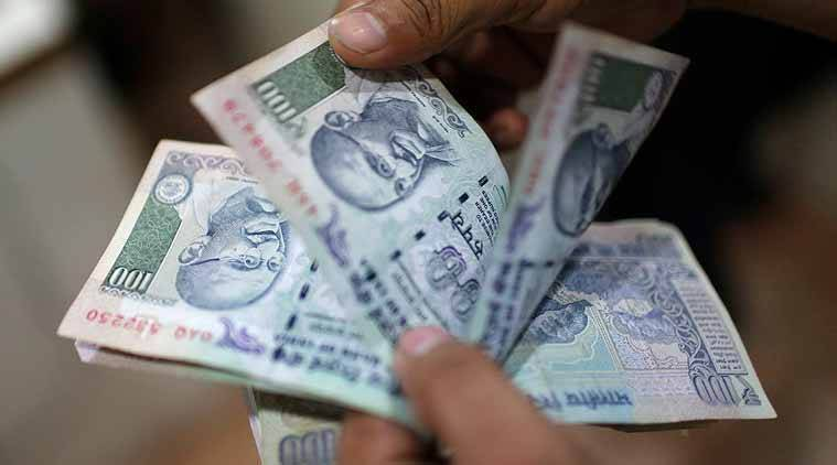 Rupee slips 15 paise to 76.40 against US dollar in early trade, indian rupee rate, currency market news india, business news india, indian express business news