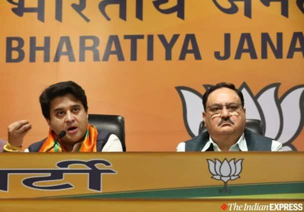 jyotiraditya scindia, jyotiraditya scindia joins bjp, jyotiraditya scindia resigns, Madhya pradesh, madhya pradesh crisis, madhya pradesh government, jyotiraditya scindia resigns from congress, jyotiraditya scindia bjp, kamal nath, congress, madhya pradesh bjp