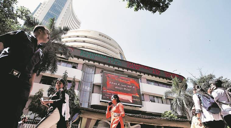 BSE Sensex, NSE Nifty, Sensex, Nifty, Sensex plunges, Sensex plunges over 2000 points, Markets news, Business news, Indian Express
