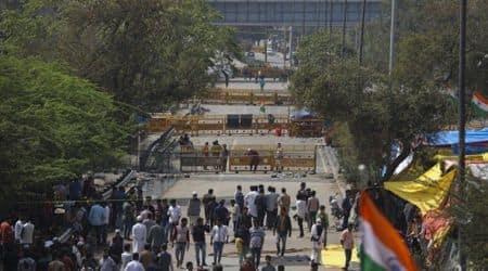 Shaheen Bagh, Shaheen bagh cleared, Delhi news, Coronavirus, India lockdown, CAA protests, Delhi police, Indian Express