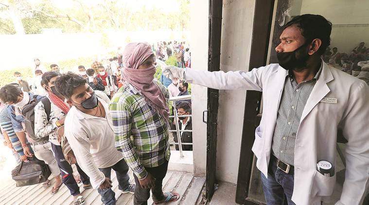 Bihar: Rahimpur school principal finds it hard to keep migrants under quarantine