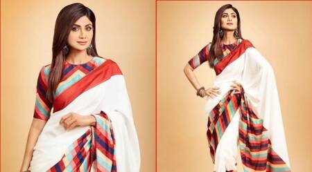 shilpa shetty, holi photos bollywood, shilpa shetty latest photos, holi party bollywood photos, indian express news, lifestyle, fashion