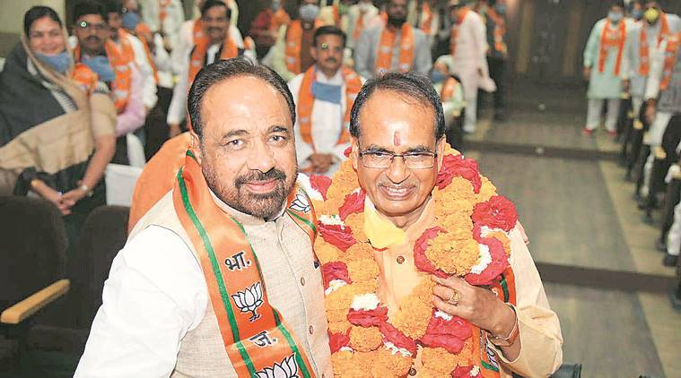 Shivraj Singh Chouhan back in MP, takes charge as CM to start his fourth innings
