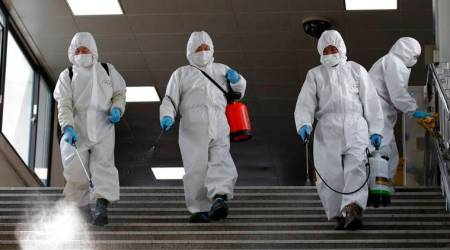 S Korea reports 4 virus cases, lowest since February