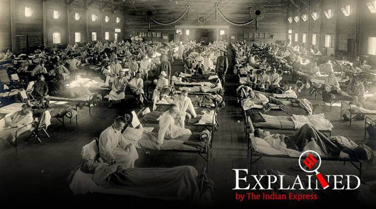 Spanish Flu Lessons From A Pandemic That Took 10 Million Lives In India Explained News The Indian Express