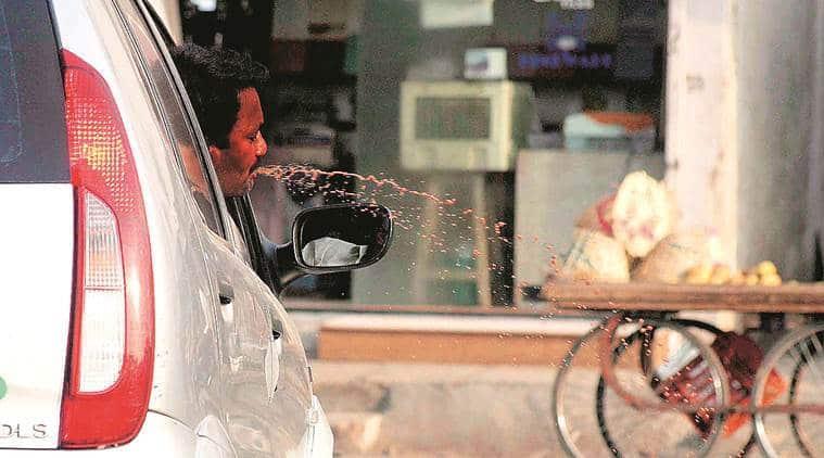coronavirus ouotbreak, spitting ban, Bihar government, Bihar news, indian express news