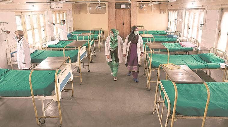 J&k coronavirus cases, J&K covid cases, J&K corona, J&K quarantine facility, j&k flight operations, indian express