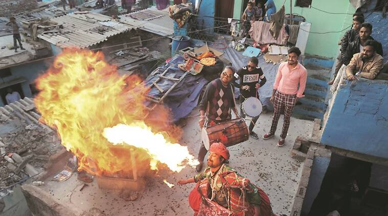 Delhi: Street artists say lockdown means zero business, many now begging