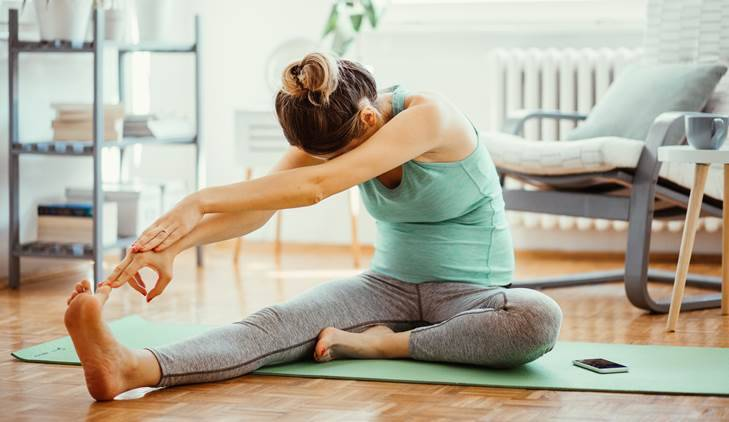 simple exercises to try at home, working from home, muscle aches and muscle stiffness, simple stretches, fitness, indian express, indian express news