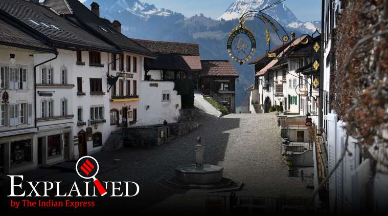 Explained: What lies behind Switzerland's high rate of Covid-19 infections per million
