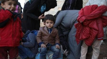 syria war, Syria crisis, children displacement in syria, syrian refugee crisis UN report on syria, United Nations researh, world news, middle east news, idniane xpress news, latest news