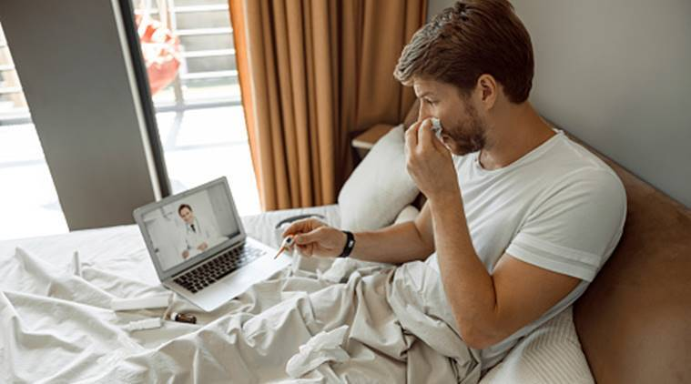 How doctors are taking part in social distancing through video consultation with patients