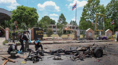 Thailand: 20 injured in bombing of government office