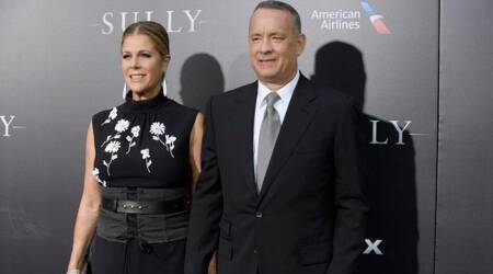 Rita Wilson and Tom Hanks, Rita Wilson and Tom Hanks marriage, Rita Wilson and Tom Hanks anniversary, Rita Wilson and Tom Hanks marriage, indian express, indian express news
