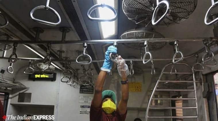 coronavirus, coronavirus Mumbai, Mumbai coronavirus latest updates, Mumbai news, indian express, Saamana, Mumbai local trains shut