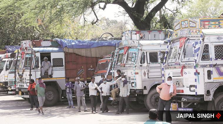 Drivers abandon loaded vehicles, trucks stuck as state borders still clogged