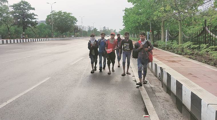 UP men on long march from Rewari: 'If virus doesn't kill us, journey will'