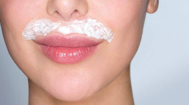 upper lip hair removal, upper lip hair removal home remedies, upper lip hair removal natural remedies, beauty, facial hair, indian express, indian express news