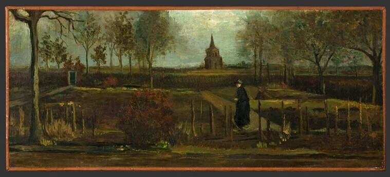 Vincent Van Gogh's painting stolen on his 167th birthday
