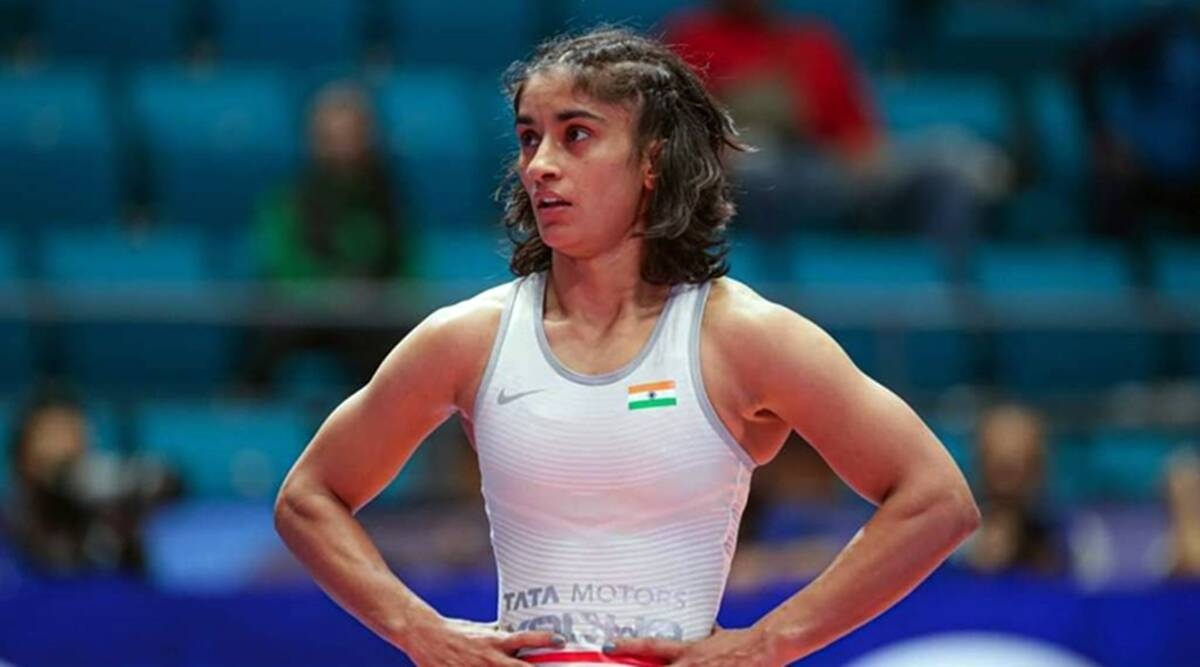 Vinesh Phogat wins gold, reclaims number one rank; Bajrang Punia reaches final - The Indian Express