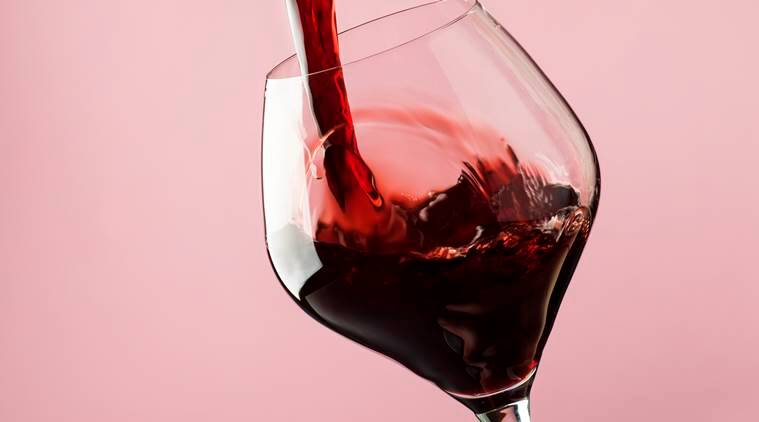 wine, wine drinking, study, wine quantity, wine sales, wine glass, indian express, indian express news