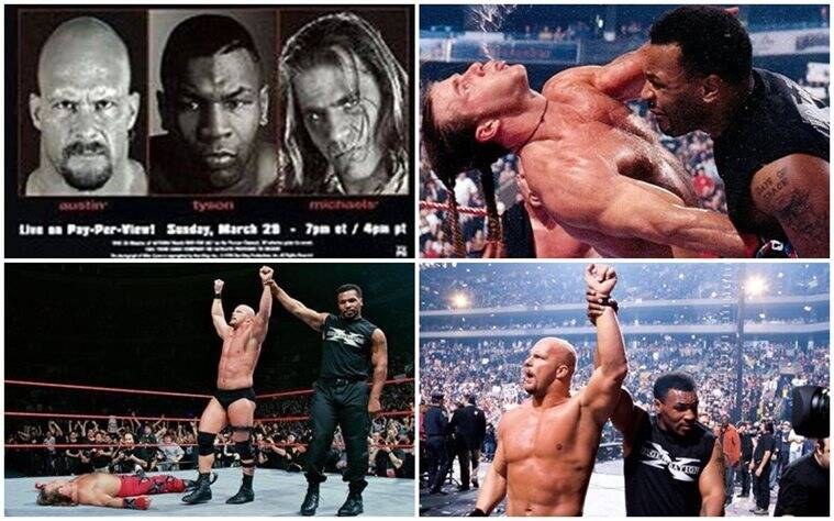 WrestleMania's Moments: Mike Tyson knocks out Shawn Michaels as Attitude Era begins