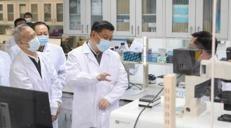 Xi Jinping makes first visit since coronavirus outbreak to China's epicenter Wuhan