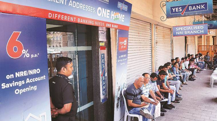 yes bank, yes bank crisis, yes bank withdrawals, yes bank withdrawal limit, yes bank money, yes bank safe, yes bank news, yes bank failure, Yes bank RBI, RBI plan for Yes Bank, Indian Express