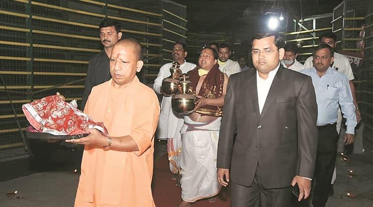 Ramlalla idol, Ramlalla idol Ayodhya, Ayodhya Ramlalla idol, Yogi Adityanath, India news, Indian Express