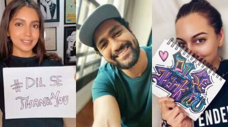 Vicky Kaushal, Bhumi Pednekar, Rajkummar Rao and others join #DilSeThankYou initiative