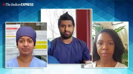 coronavirus, asian workers, you clap for me now video, minority health workers, indian express, indian express