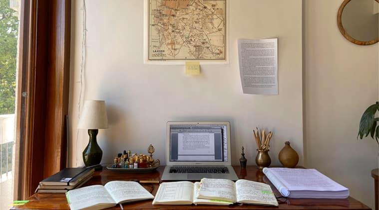 workstations, authors workstations, work stations and authors, aanchal malhotra, aanchal malhotra work stations, indian express, indian express news
