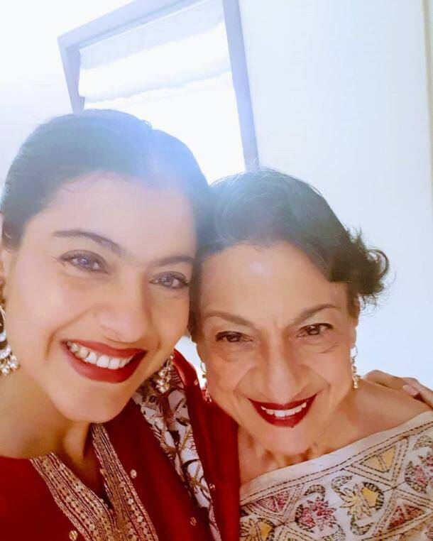 kajol mother