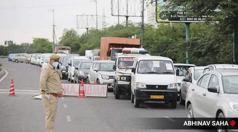 Delhi lockdown, delhi lockdown guidelines, delhi traffic police, delhi traffic, delhi news