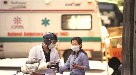 AIIMS, Delhi coronavirus cases, coronavirus cases Delhi, Delhi news, city news, Indian Express