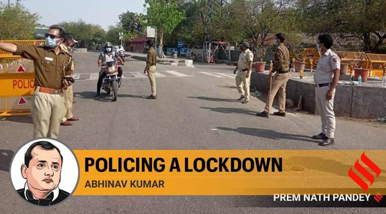 Policing a lockdown: Every day brings challenges, heartbreaks, acts of inspiration