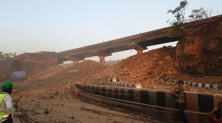 'Headache' for Pune-Mumbai commuters, 190-year-old Amrutanjan bridge demolished
