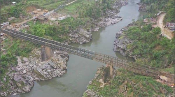 Daporijo Bridge, Arunachal Pradesh Bridge, Arunachal Pradesh