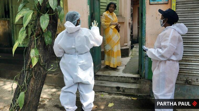 Lack of health workers a concern in cities, govt says must live with virus
