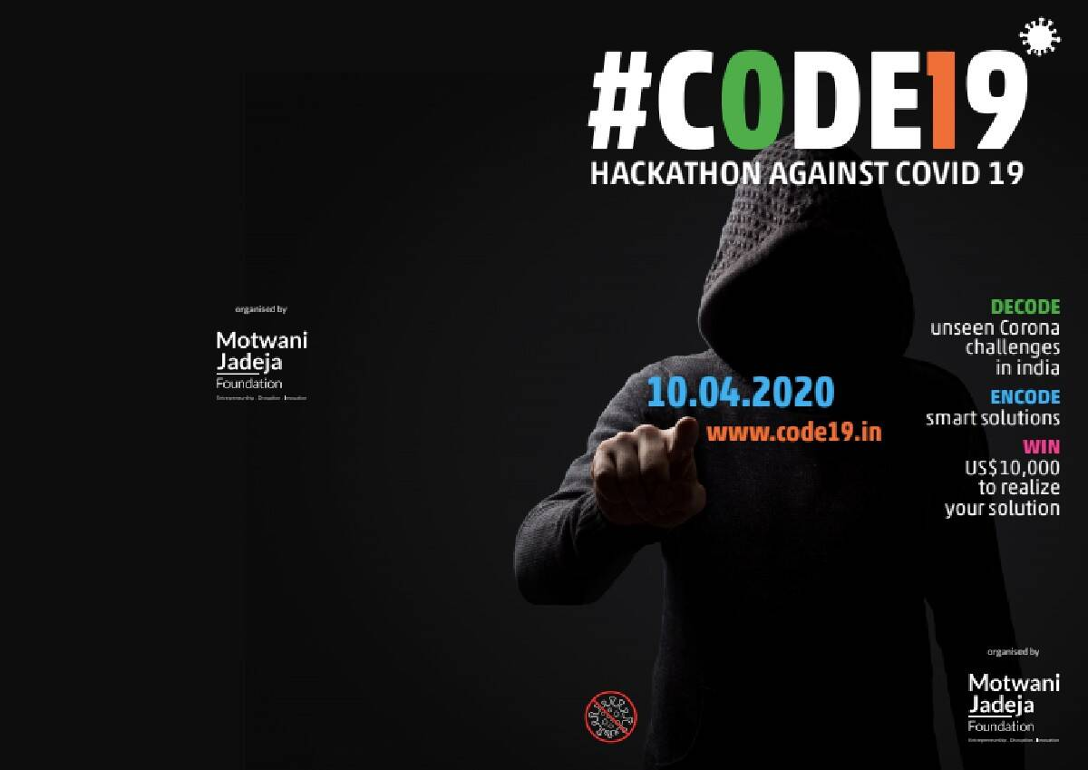 CODE19 is a 72-hour online hackathon to find a solution to COVID ...
