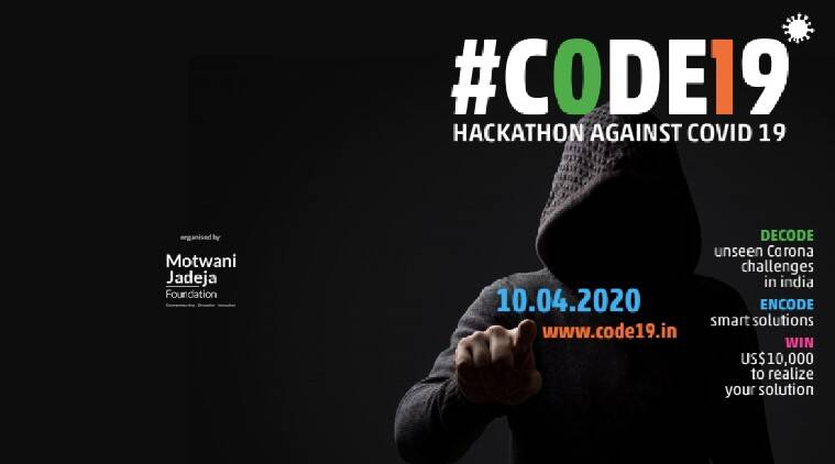 CODE19 is a 72-hour online hackathon to find a solution to COVID-19
