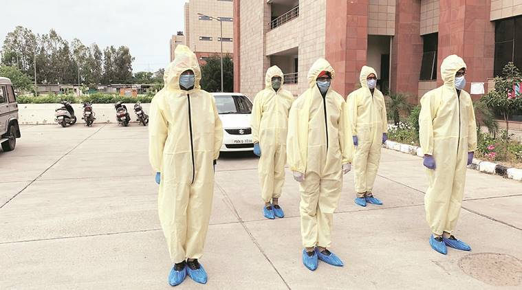 Mohali police readies team of COVID Commandos