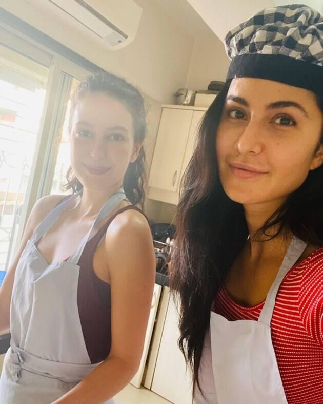 katrina kaif cooking