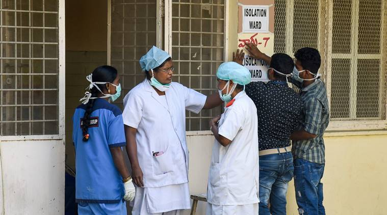 coronavirus, covid-19, hyderabad containment clusters, COVID-19 containment clusters, hyderabad news,indian express
