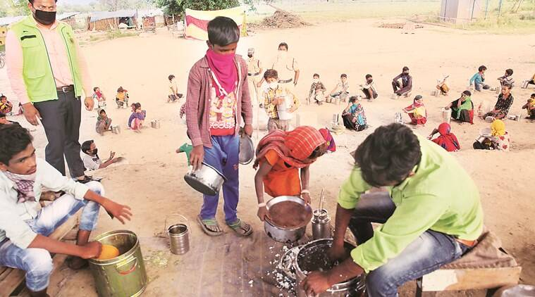 Delhi Police report on migrant camps: Fans not working, bad food