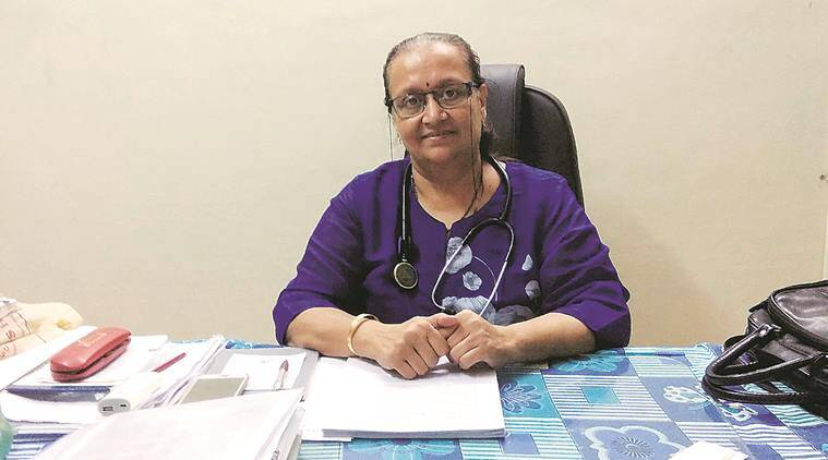 coronavirus cases, health workers, gujarat cases, Covid-care doctor, indian express news