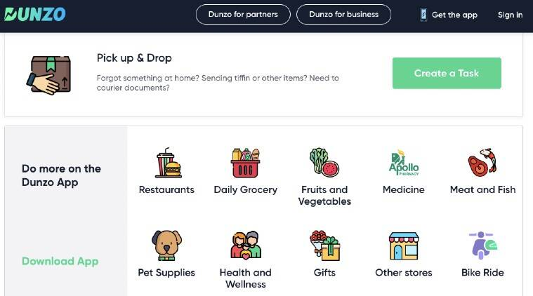 Online home delivery, Home delivery bigbasket, Home delivery grocery, Coronavirus lockdown, Coronavirus lockdown India, Zomato grocery, Swiggy grocery, Dunzo, How to use Dunzo, BigBasket delivery