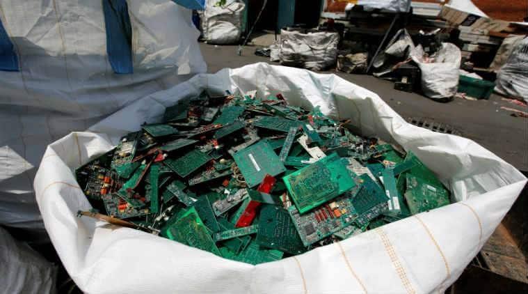 e waste, lockdown, india lockdown, coronavirus lockdown, old phones waste, indian express