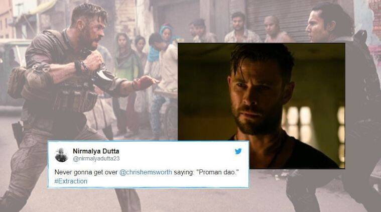 When Thor Spoke Bengali Chris Hemsworth S Dialogue In Extraction Has Netizens Impressed Trending News The Indian Express